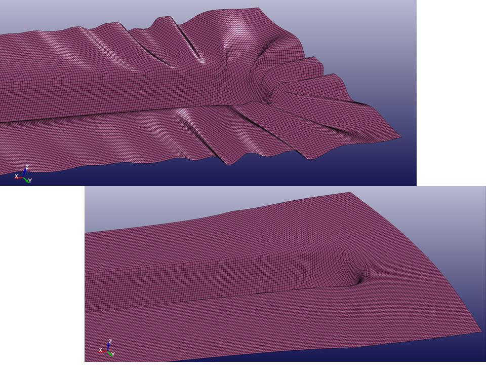 薄板絞り成形の解析
