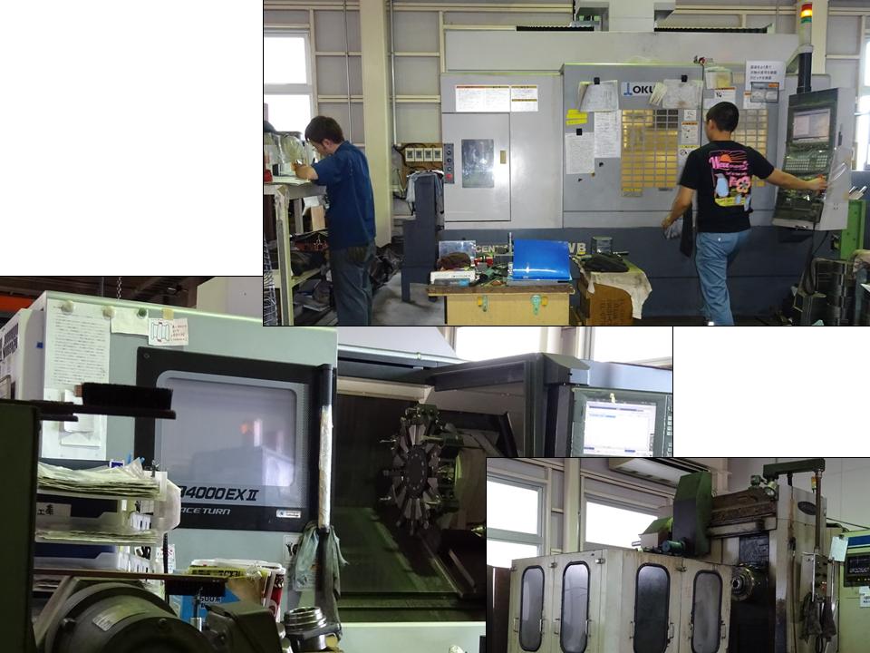 写真1 同社の主力機械