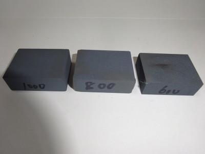 講習で使用したスティック砥石