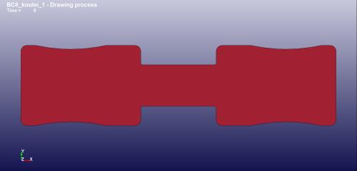 再度、修正したブランク形状