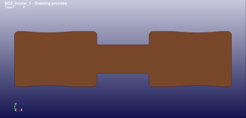 3回目の修正ブランク形状