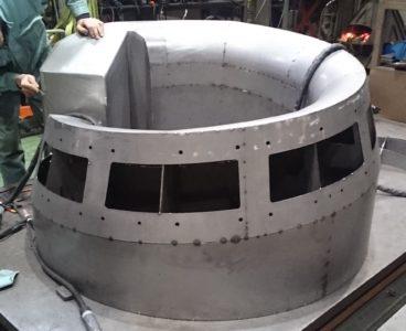 写真1 同社で製作している溶接板金製品の一例
