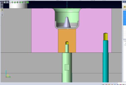 図1 中パッド構造の設計事例