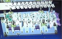 絞り・深絞り加工のスズキプレス金型の3次元金型設計